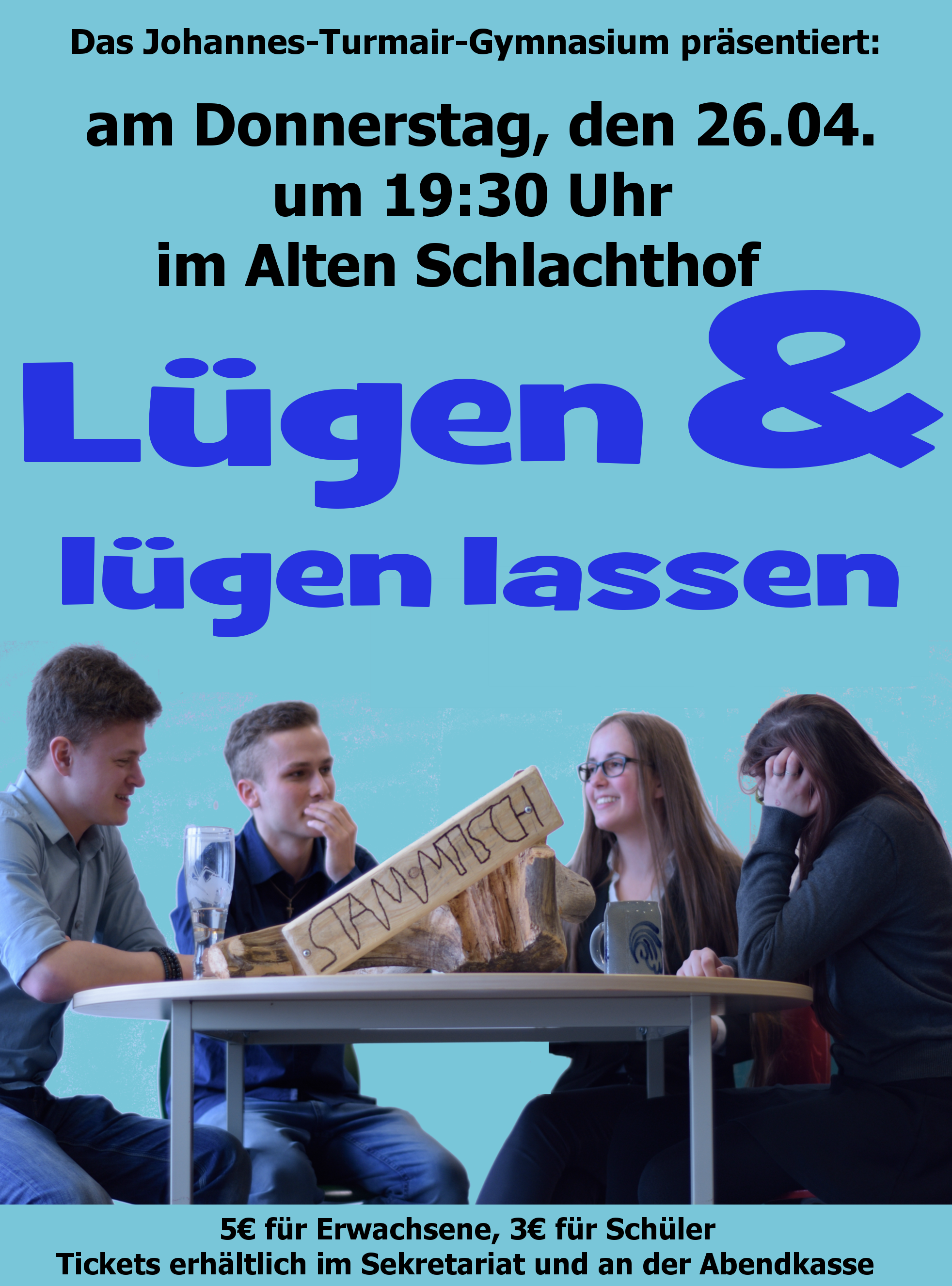 Theater Plakat 2018